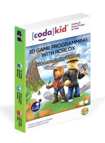 Coding for Kids with Roblox - Ages 8+ Learn Real Computer Programming and Code Amazing Roblox Games with Lua and Video Game Programming Software - Award-Winning STEM Learning Online Course (PC & Mac)
